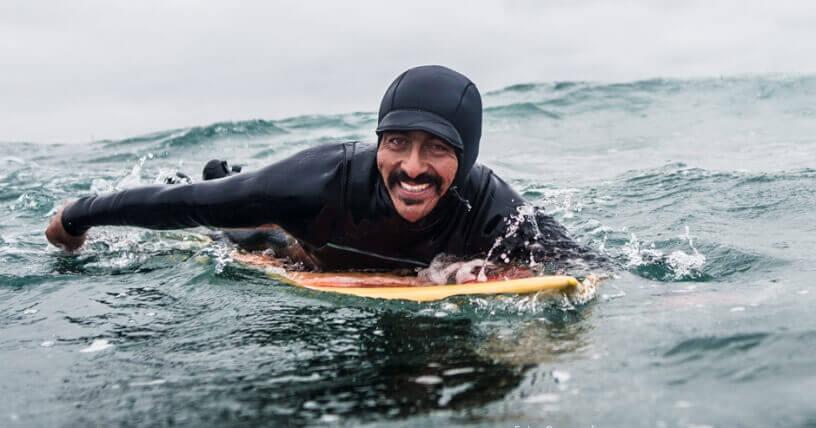 Ramon Navarro surfista chileno