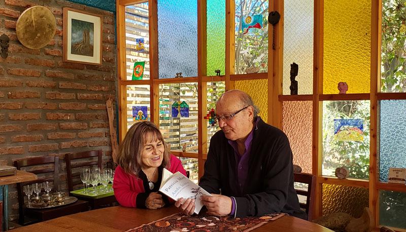 Patricia May y Sergio Sagüez